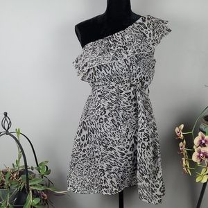 STREETWEAR SOCIETY Dress Animal Print Mini